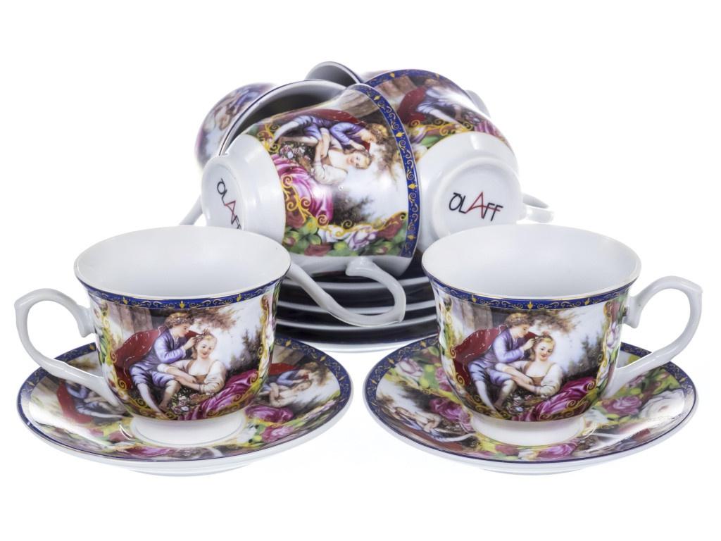 Чайный набор PSF Group Olaff Мадонна 12 предметов 156-01003