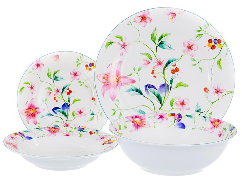 Набор посуды PSF Group Balsford Латона Ароматный мир 19 предметов 104-03007 сервиз столовый латона великолепный день 19 предметов тм balsford артикул 104 03014