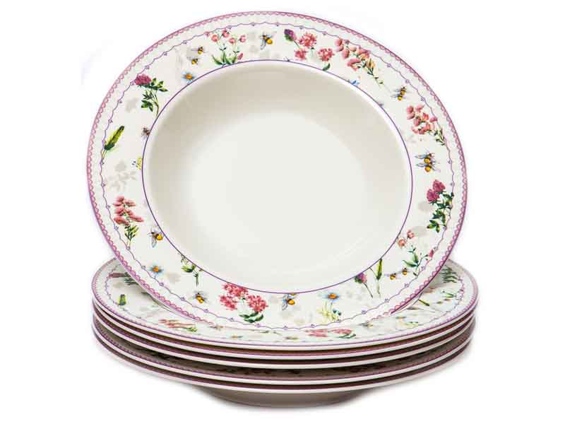 Набор тарелок PSF Group Balsford Амуаж 6 предметов 182-44009-3