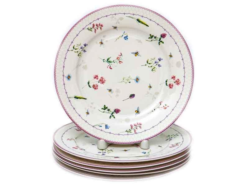 Набор тарелок PSF Group Balsford Амуаж 6 предметов 182-44008-3