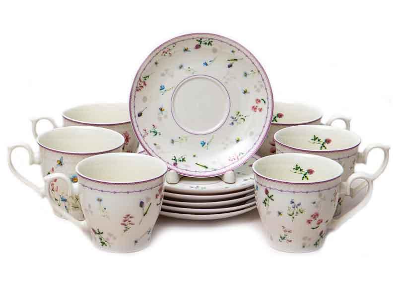 Чайный набор PSF Group Balsford Амуаж 12 предметов 182-44001