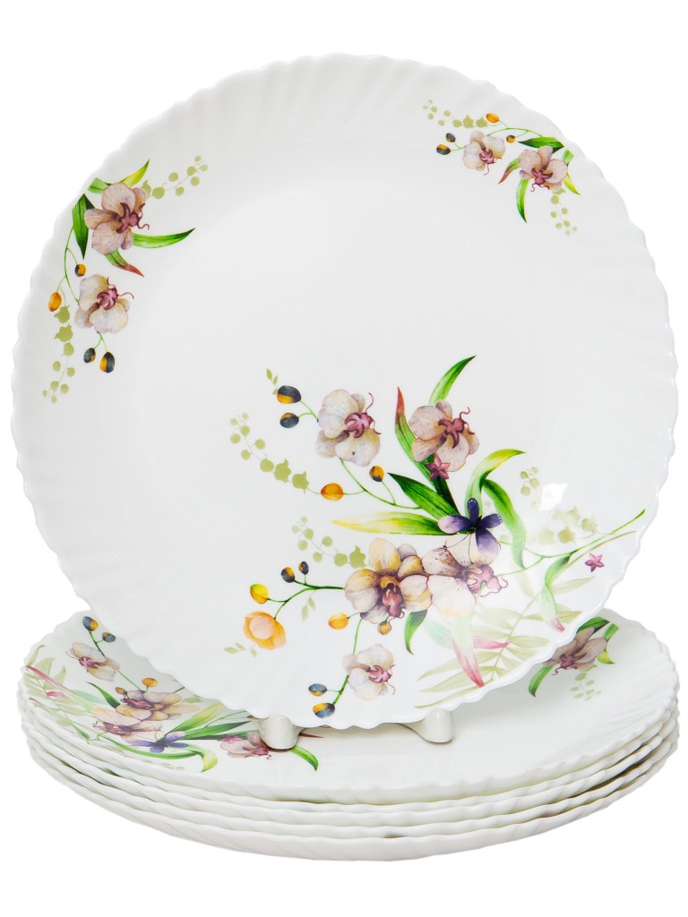Набор тарелок PSF Group Olaff Английский сад 6 предметов 131-21027-6