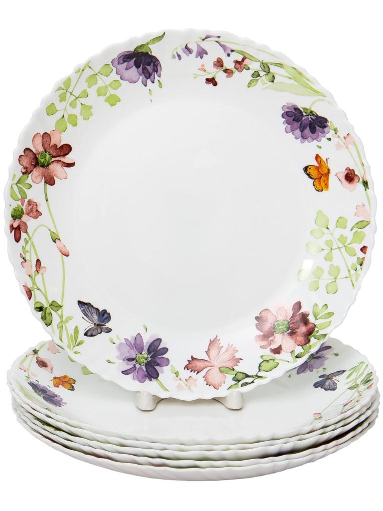 Набор тарелок PSF Group Olaff Акварель 6 предметов 131-21019-6