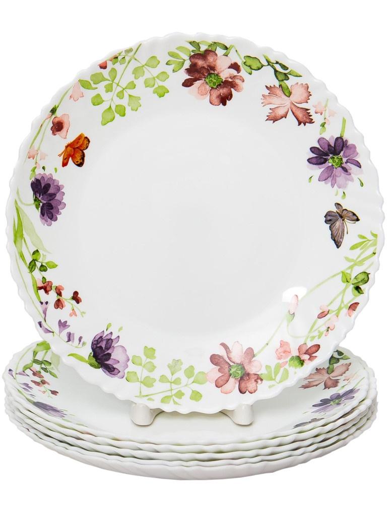 Набор тарелок PSF Group Olaff Акварель 6 предметов 131-21018-6