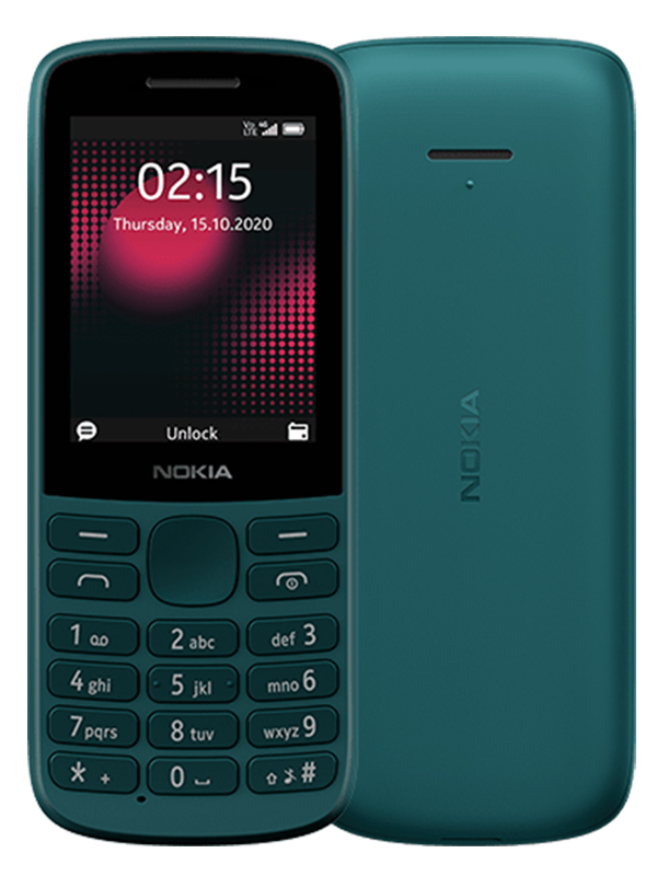 Сотовый телефон Nokia 215 4G Dual Sim Cyan