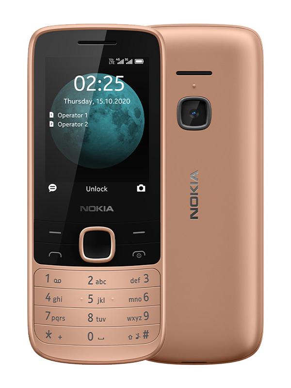 Сотовый телефон Nokia 225 4G Dual Sim Sand