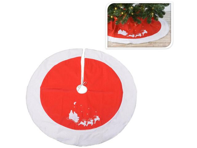Юбка для декорирования ёлки Kaemingk Рождественские сани 120cm AAF202210/163040