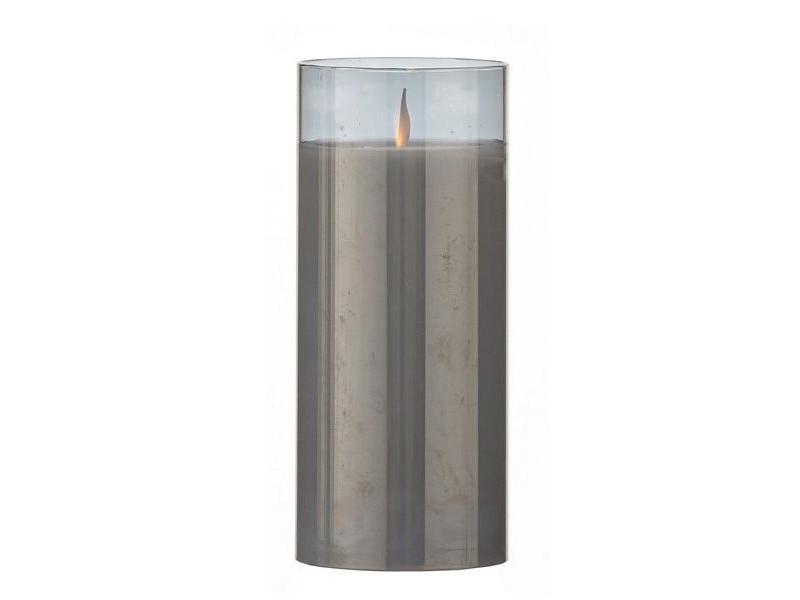 Светодиодная свеча Edelman Танцующее пламя 7.5x17.5cm Smoky 1051774/161285