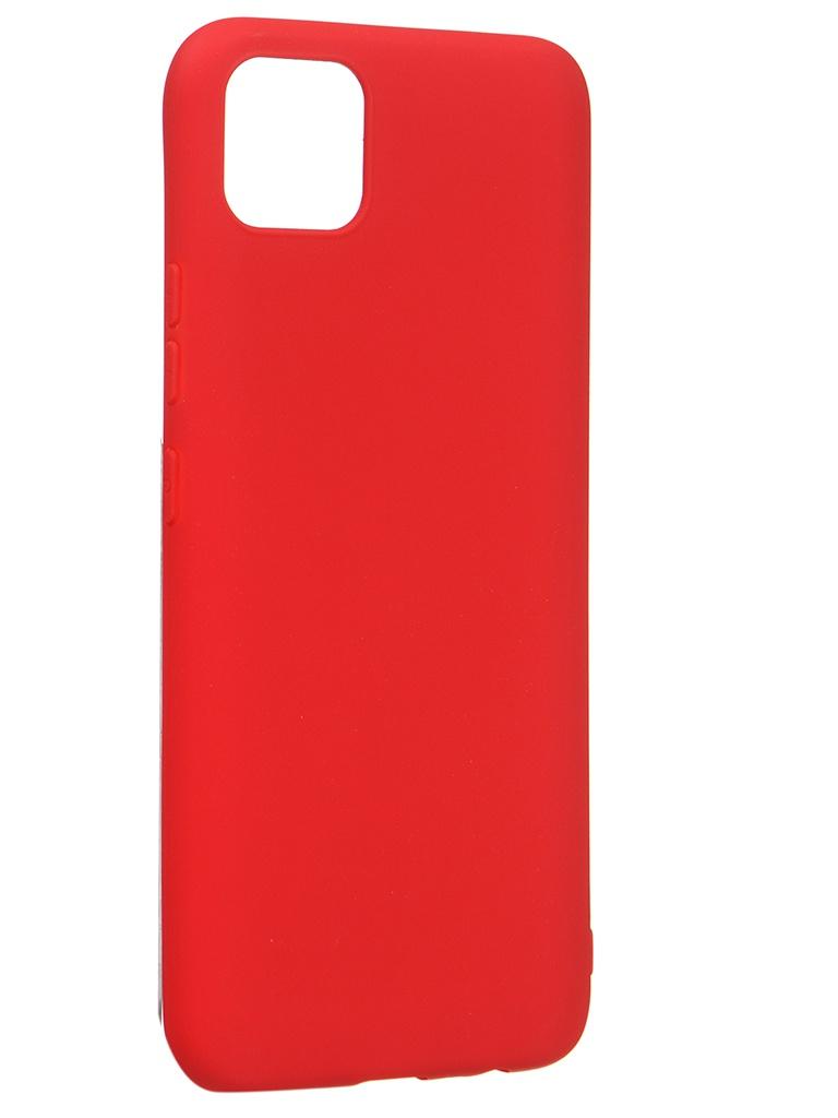 Чехол Zibelino для Realme C11 Soft Matte Red ZSM-RLM-C11-RED