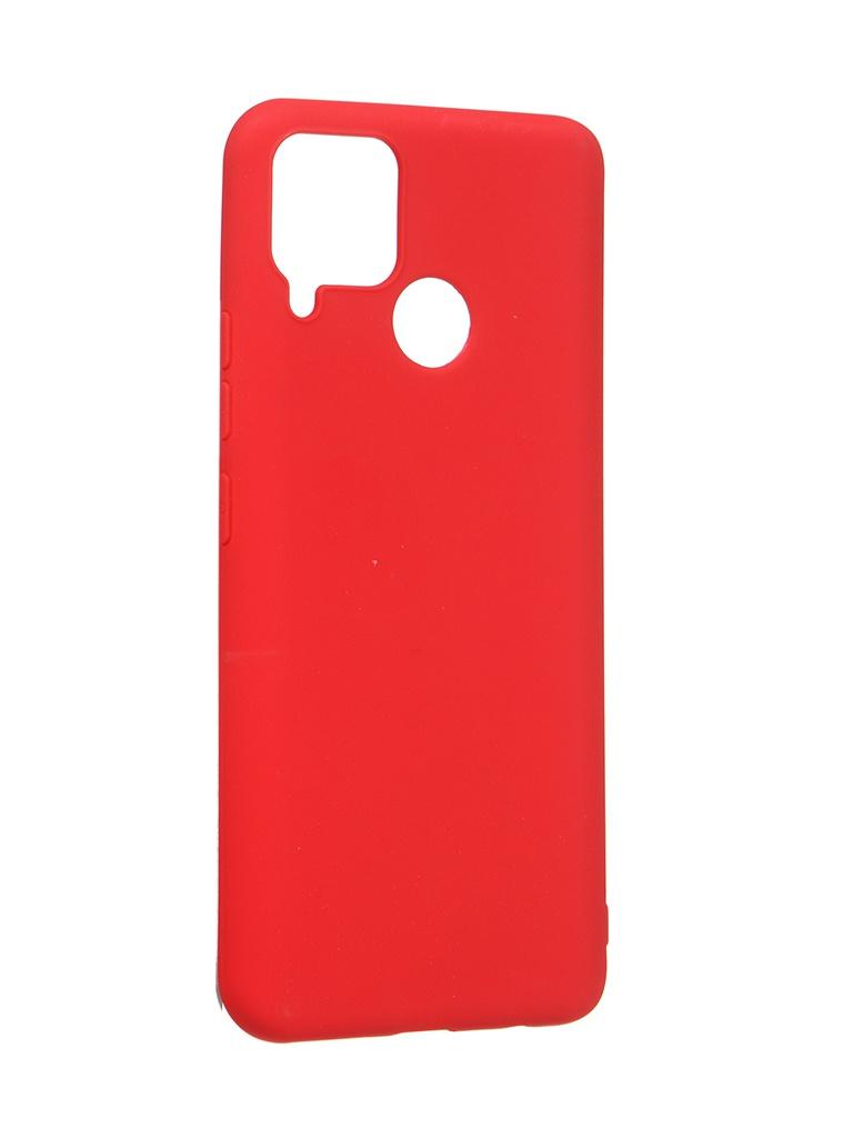 Чехол Zibelino для Realme C15 Soft Matte Red ZSM-RLM-C15-RED