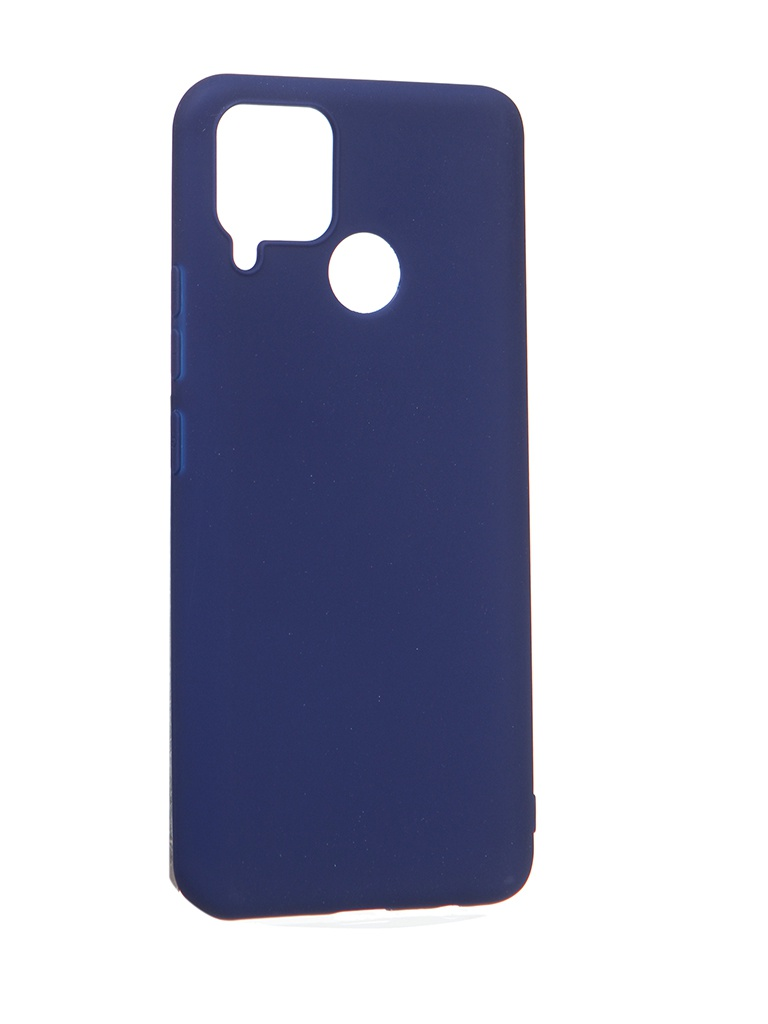 Чехол Zibelino для Realme C15 Soft Matte Blu ZSM-RLM-C15-BLU