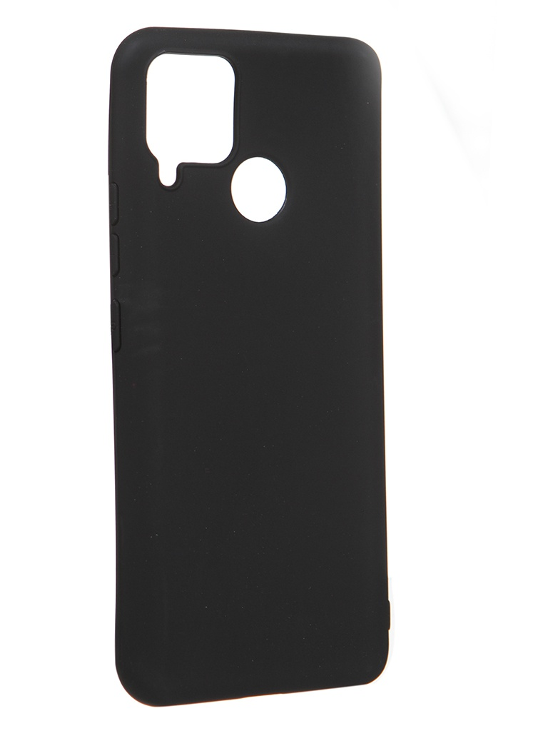 Чехол Zibelino для Realme C15 Soft Matte Blak ZSM-RLM-C15-BLK