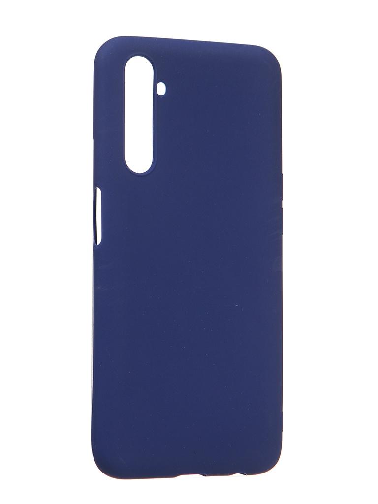 Чехол Zibelino для Realme 6/6s Soft Matte Bbu ZSM-RLM-6-BLU