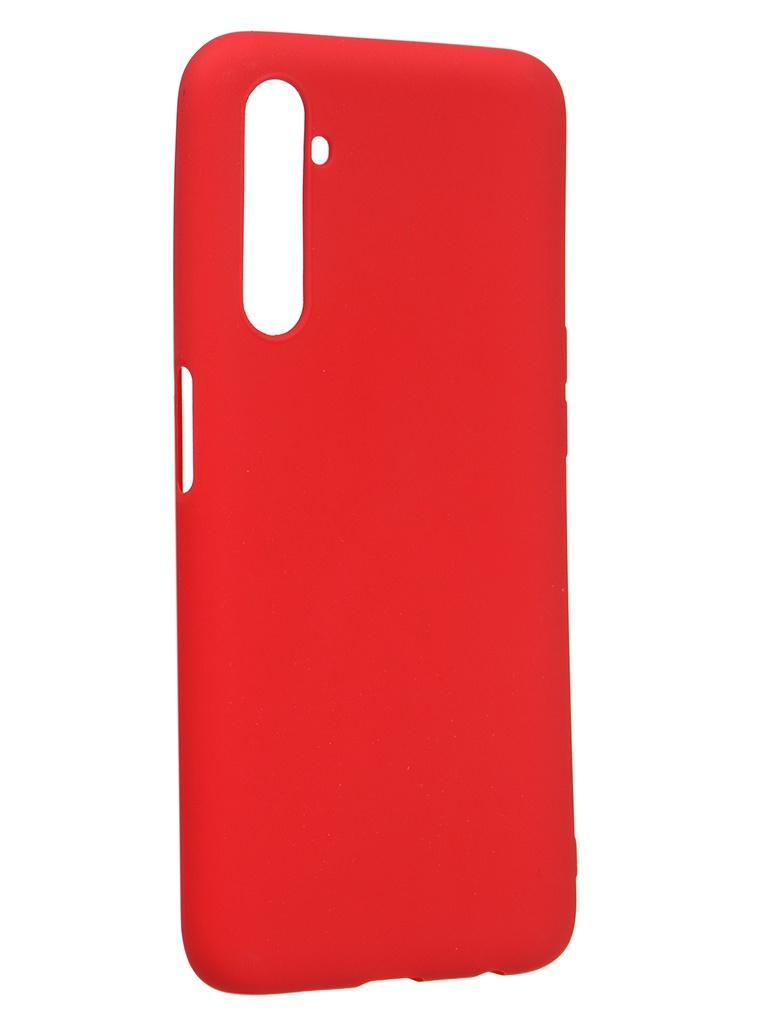 Чехол Zibelino для Realme 6/6s Soft Matte Red ZSM-RLM-6-RED