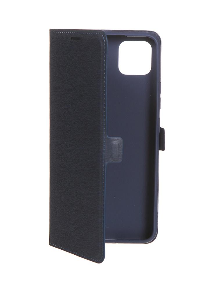 Чехол Krutoff для Realme C11 Eco Book Blue 10566