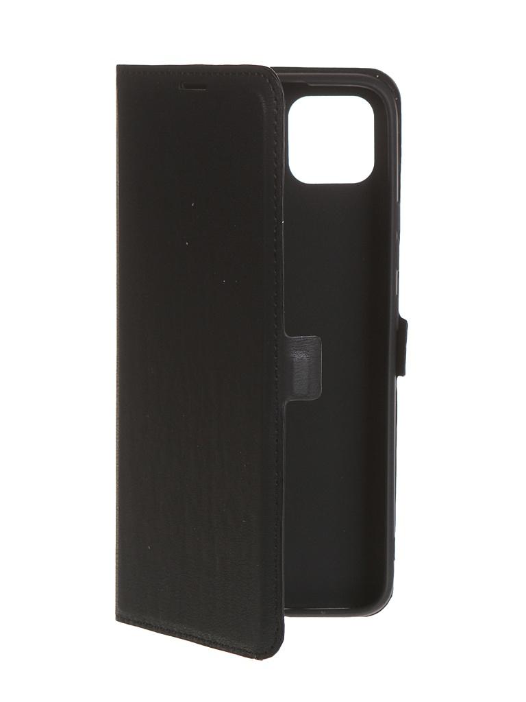 Чехол Krutoff для Realme C11 Eco Book Black 10567