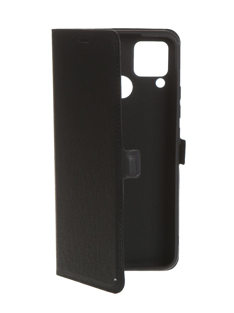 Чехол Krutoff для Realme C15 Eco Book Black 10569