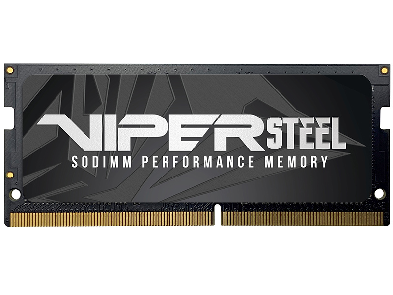 Модуль памяти Patriot Memory Viper Steel DDR4 SO-DIMM 3000MHz PC-24000 CL18 - 32Gb PVS432G300C8S