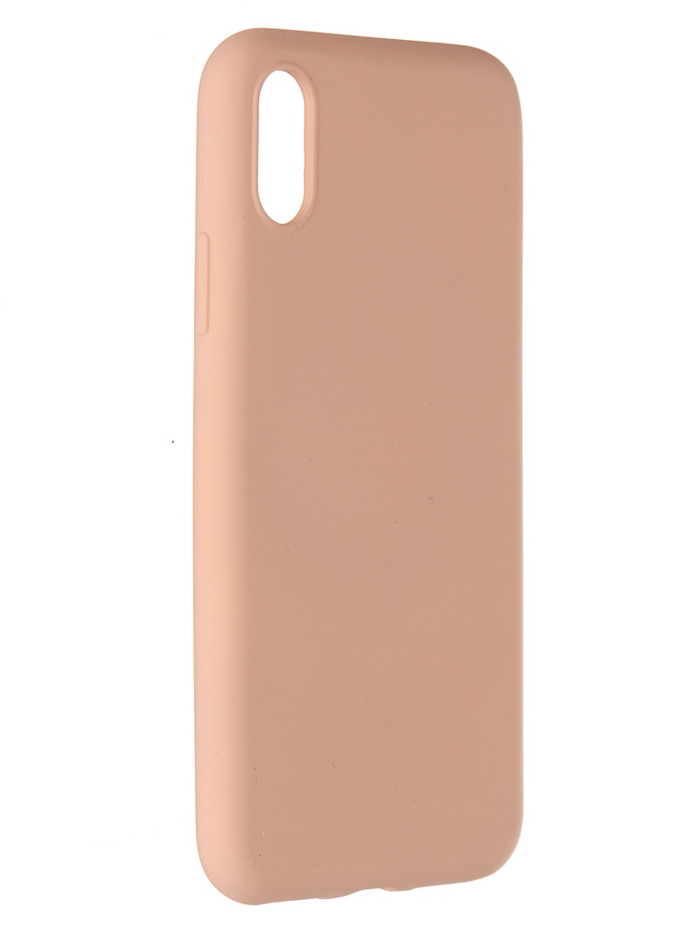 Чехол Pero для APPLE iPhone X / XS Liquid Silicone Pink PCLS-0002-PK