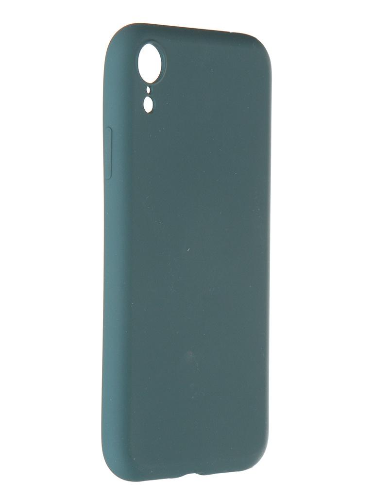 Чехол Pero для APPLE iPhone X / XS Liquid Silicone Dark Green PCLS-0002-NG