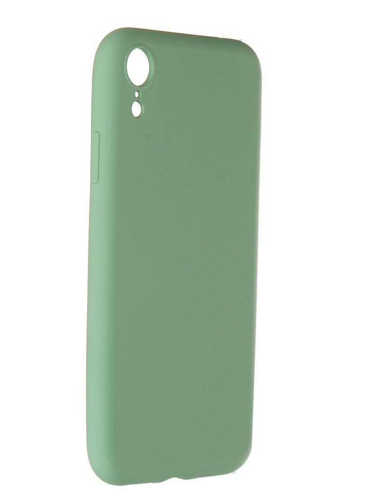 Чехол Pero для APPLE iPhone XR Liquid Silicone Green PCLS-0003-GN
