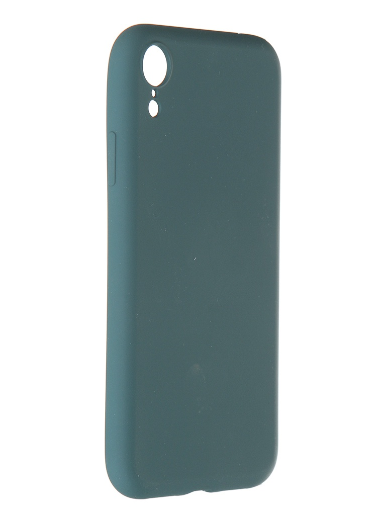 Чехол Pero для APPLE iPhone XR Liquid Silicone Dark Green PCLS-0003-NG