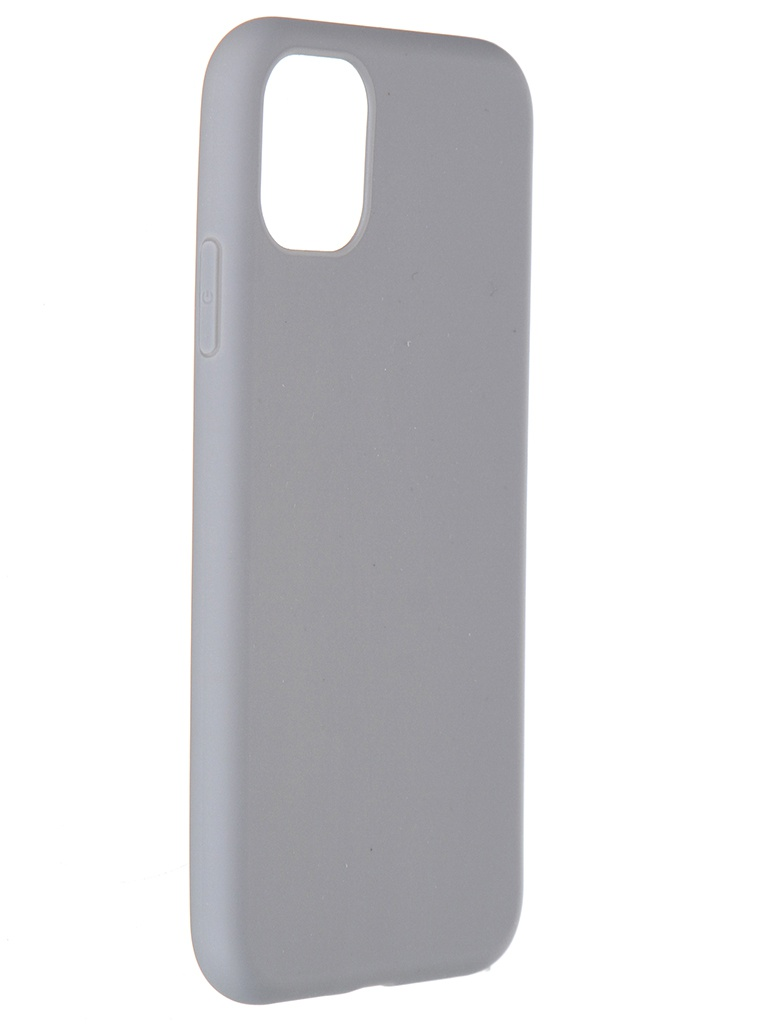 Чехол Pero для APPLE iPhone 11 Liquid Silicone Grey PCLS-0022-GR