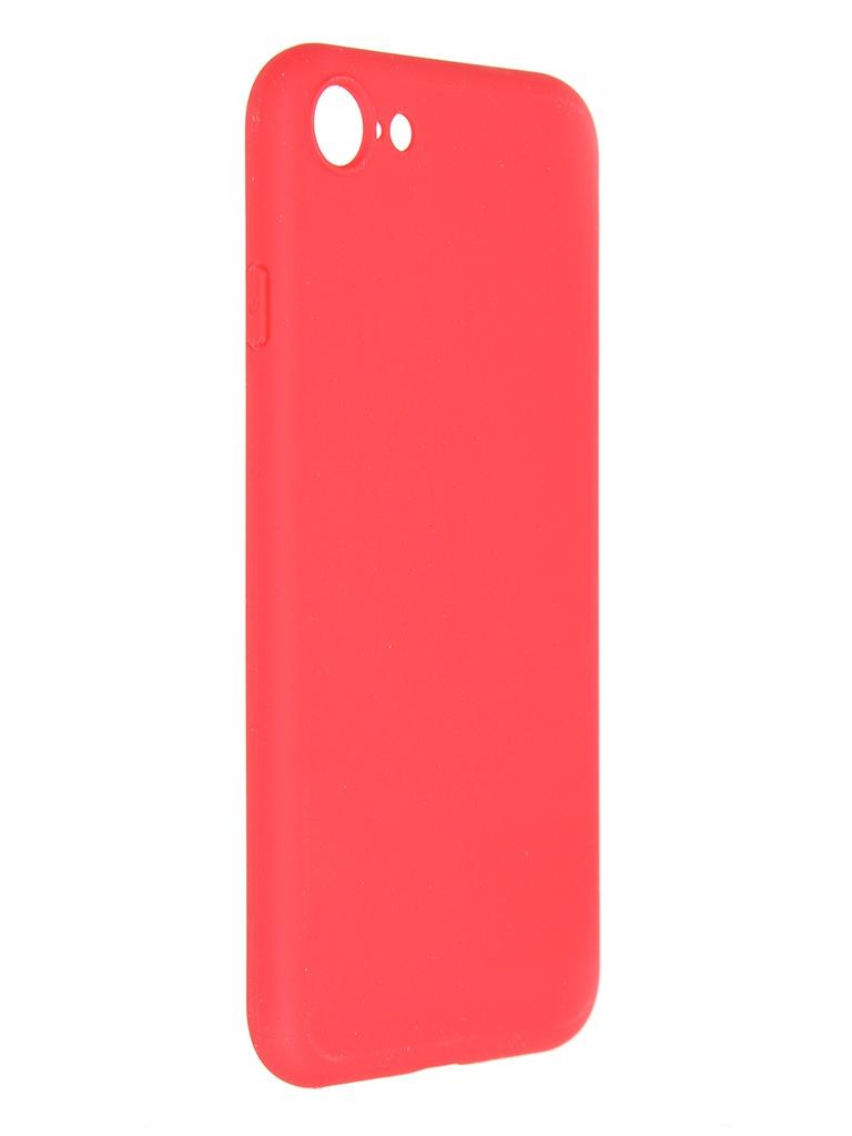 Чехол Pero для APPLE iPhone 7 / 8 SE2 Liquid Silicone Red PCLS-0001-RD