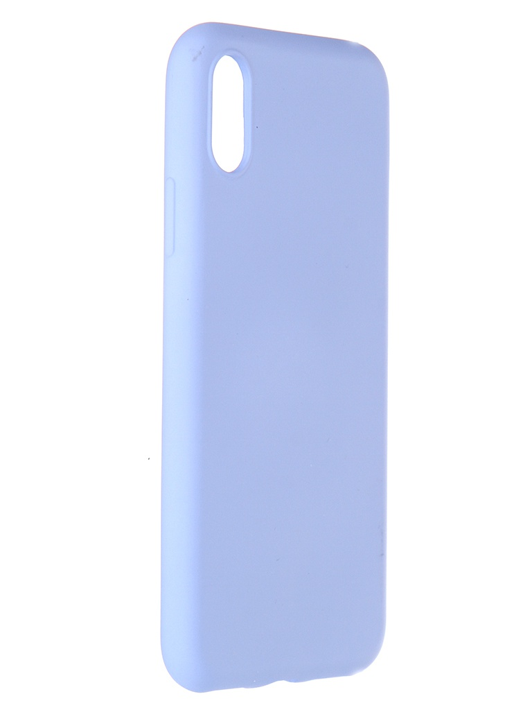 Чехол Pero для APPLE iPhone X / XS Liquid Silicone Light Blue PCLS-0002-LB
