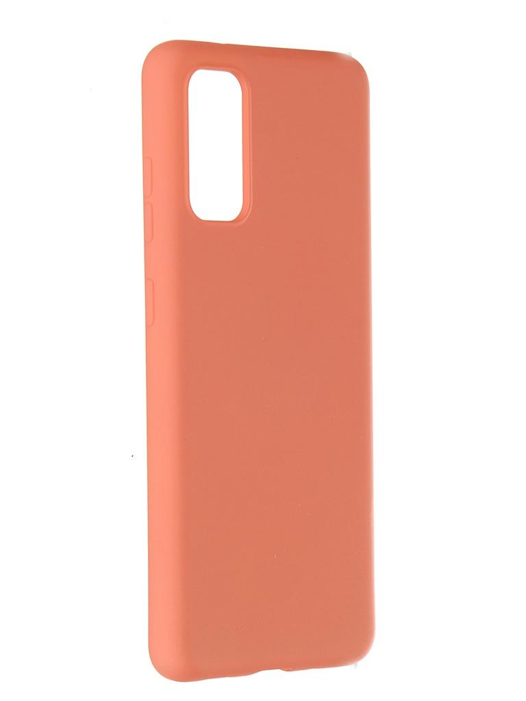 Чехол Pero для Samsung Galaxy S20 Liquid Silicone Orange PCLS-0010-OR