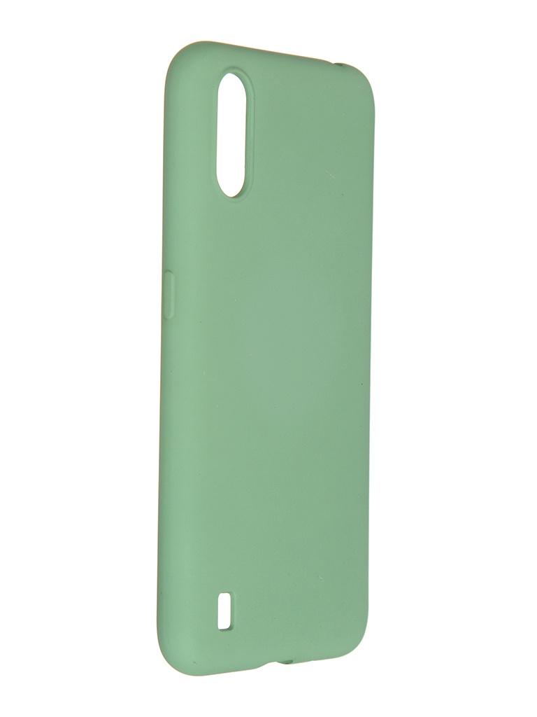 Чехол Pero для Samsung Galaxy A01 Liquid Silicone Green PCLS-0012-GN