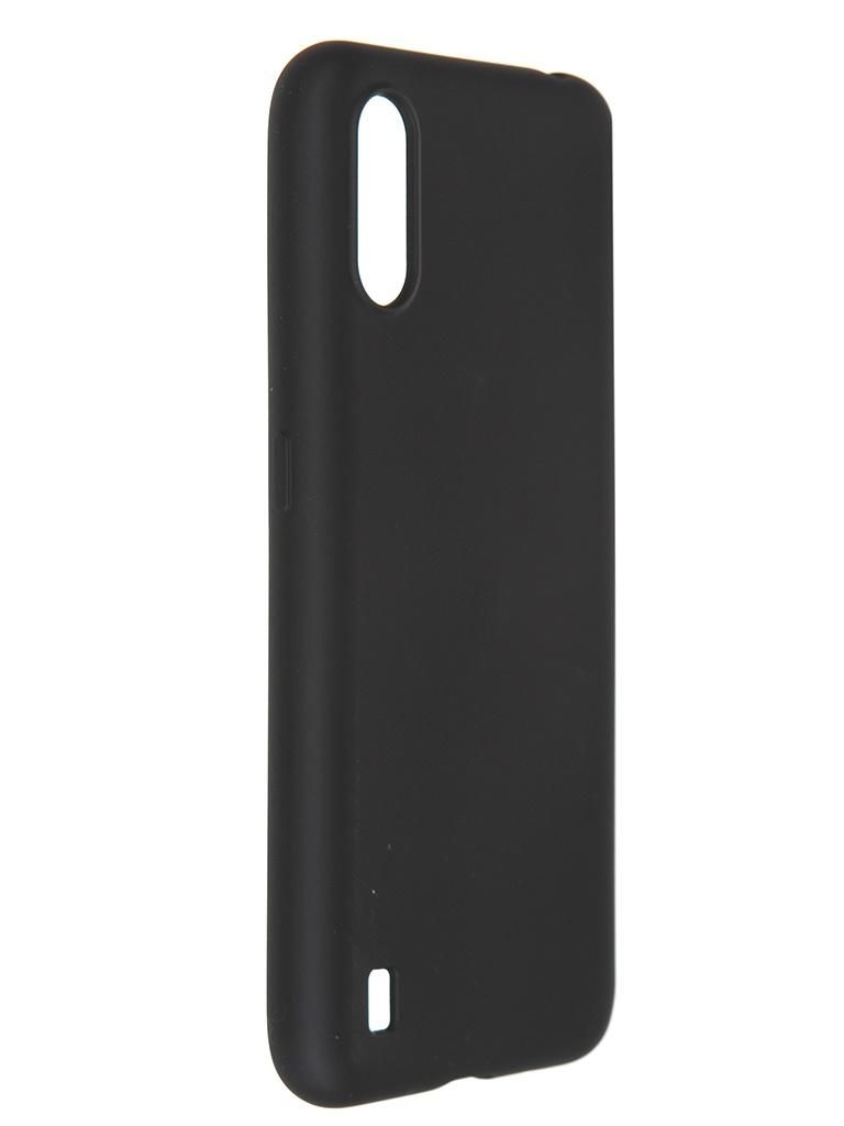 Чехол Pero для Samsung Galaxy A01 Liquid Silicone Black PCLS-0012-BK