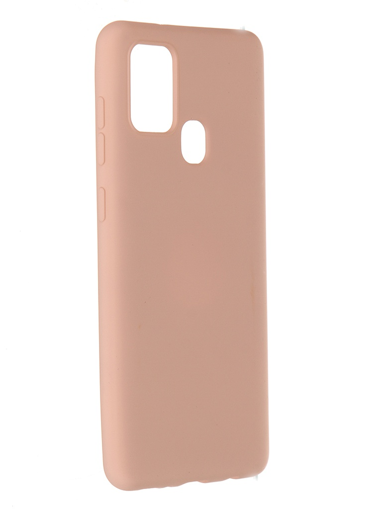 Чехол Pero для Samsung Galaxy A21s Liquid Silicone Pink PCLS-0016-PK