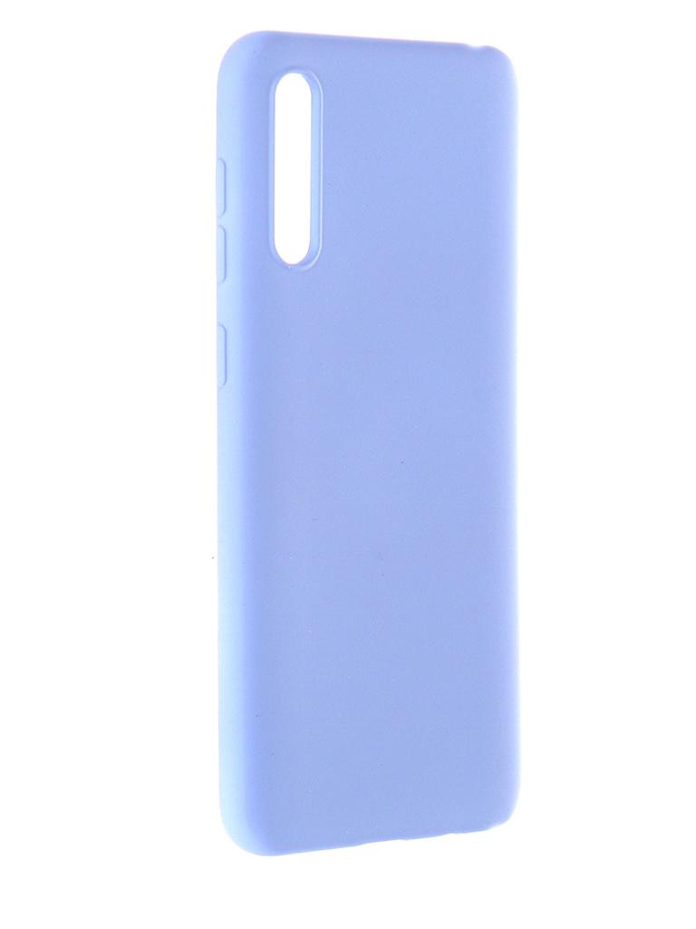 Чехол Pero для Samsung Galaxy A31 Liquid Silicone Blue PCLS-0007-BL