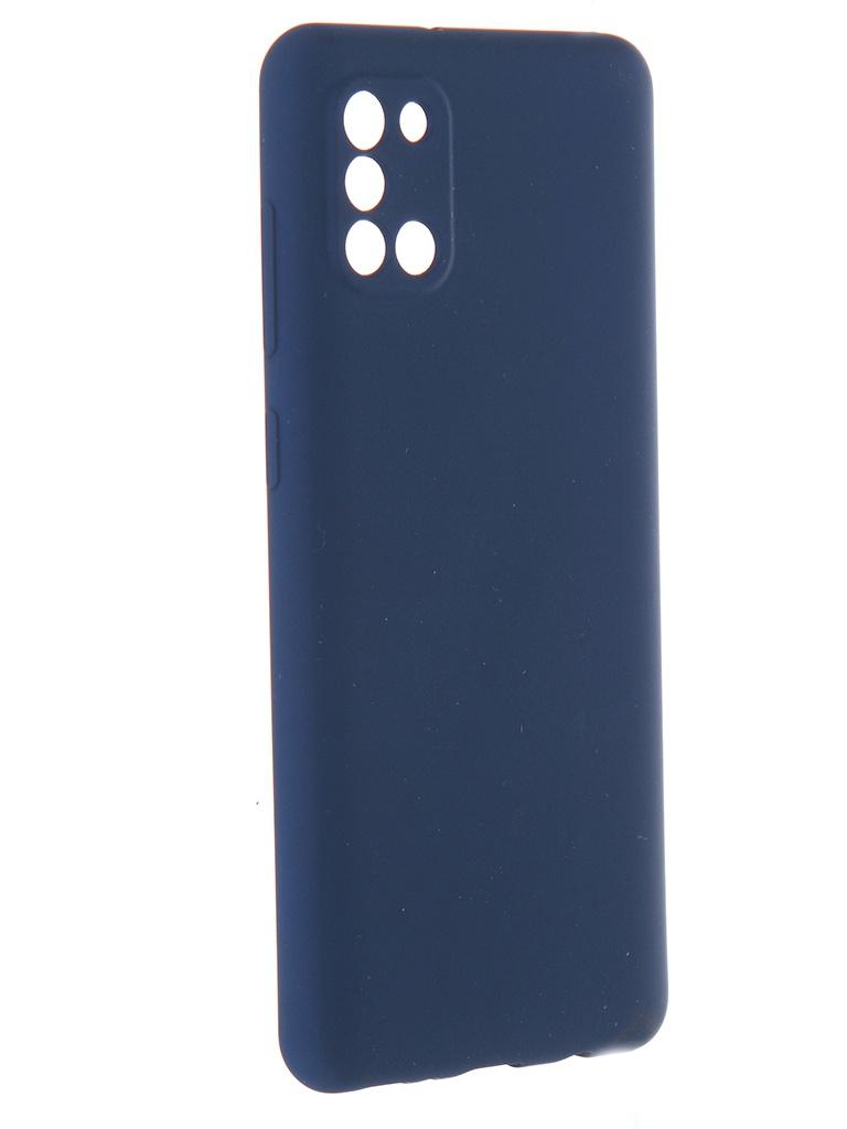 Чехол Pero для Samsung Galaxy A31 Liquid Silicone Black PCLS-0007-BK