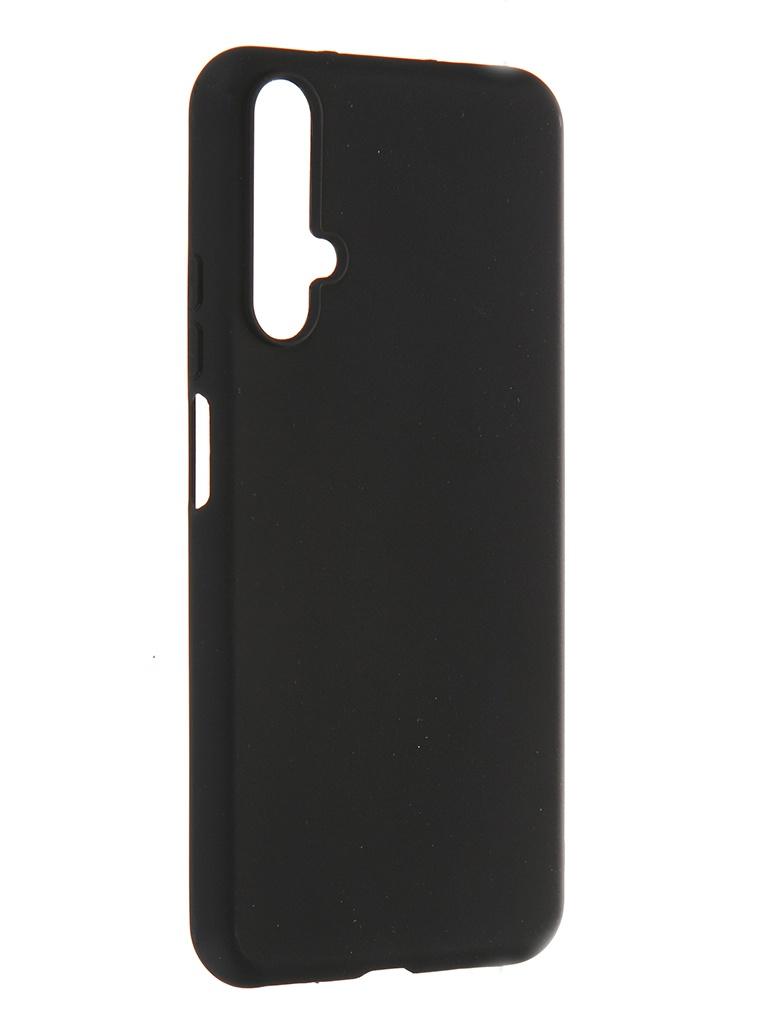 Чехол Pero для Honor 20 / Huawei Nova 5T Soft Touch Black CC01-H20B
