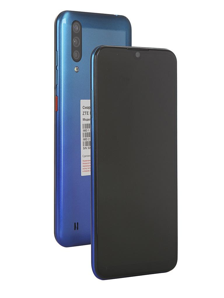 Сотовый телефон ZTE Blade A7 2020 2Gb/32Gb Blue Выгодный набор + серт. 200Р!!!