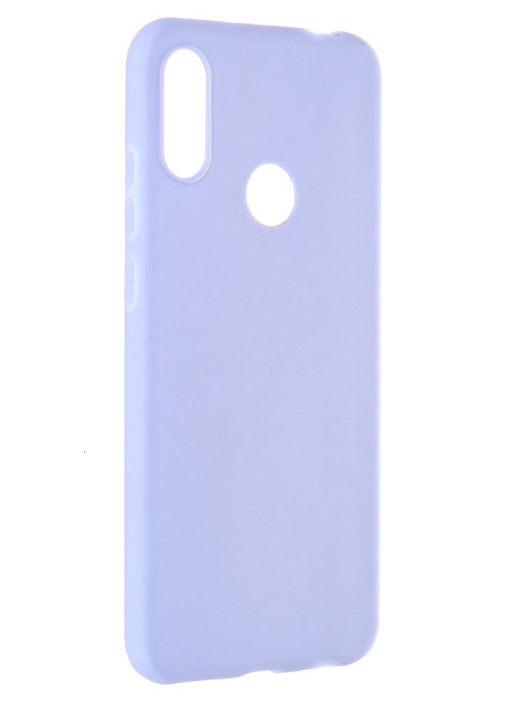 Чехол Pero для Honor 8A / Huawei Y6s Y6 2019 Soft Touch Light Blue CC01-Y619OB