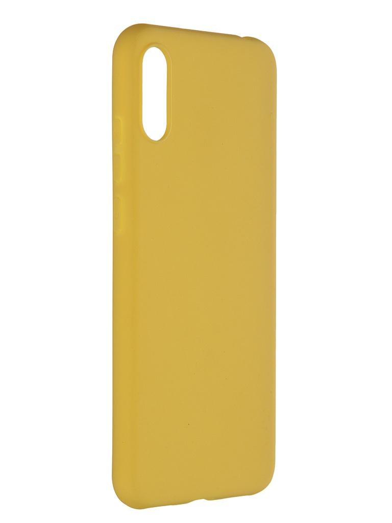 Чехол Pero для Honor 8A / Huawei Y6s Y6 2019 Soft Touch Yellow CC01-Y619Y