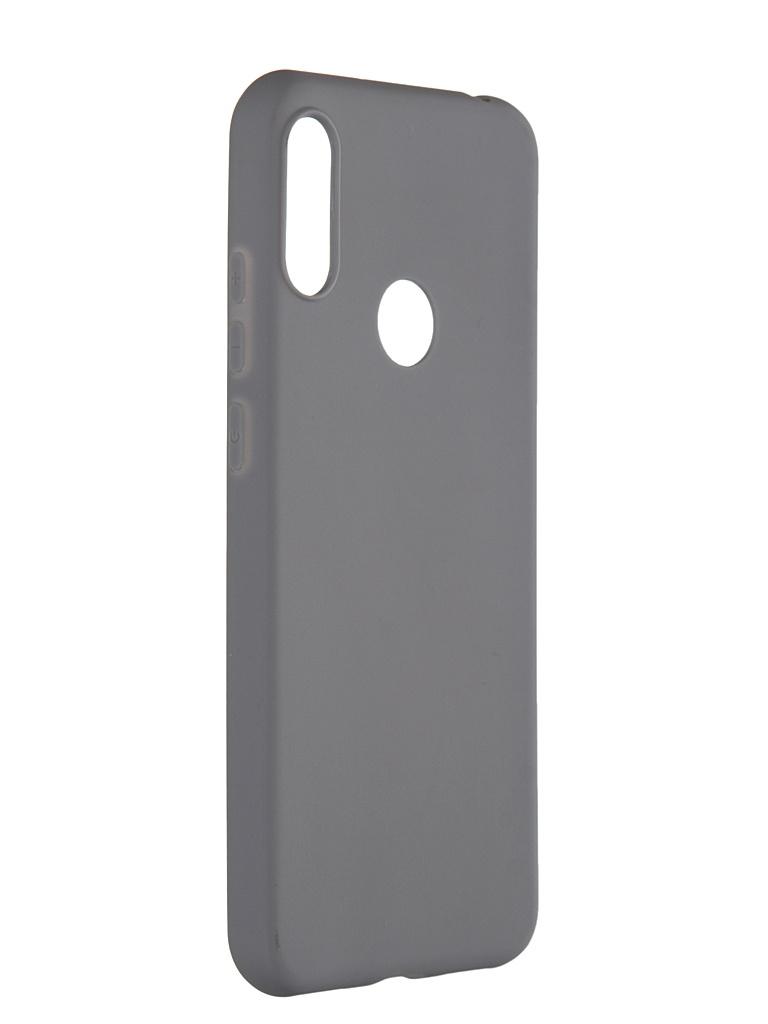 Чехол Pero для Honor 8A / Huawei Y6s Y6 2019 Soft Touch Grey CC01-Y619GR