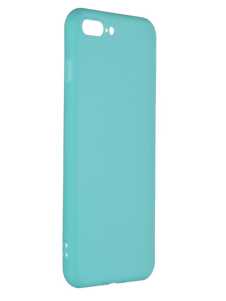 Чехол Pero для APPLE iPhone 7 Plus Soft Touch Turquoise PRSTC-I7PC