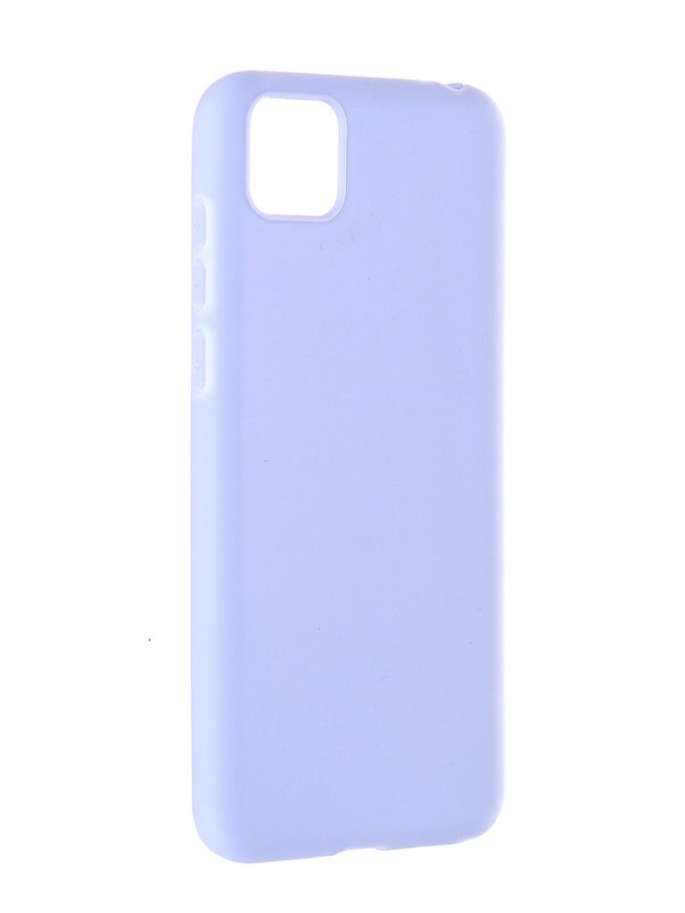 Чехол Pero для Honor 9S / Huawei Y5p Soft Touch Light Blue CC01-H9SOB