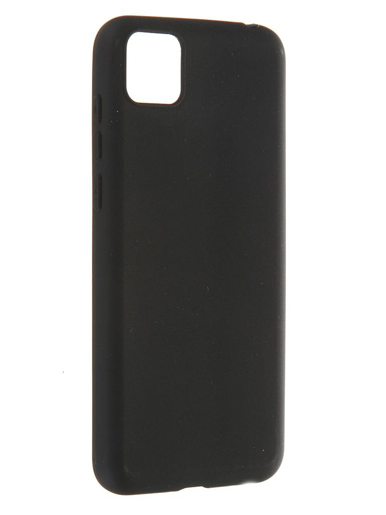 Чехол Pero для Honor 9S / Huawei Y5p Soft Touch Black CC01-H9SB