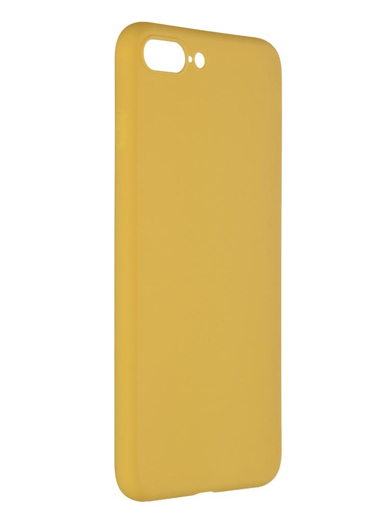 Чехол Pero для APPLE iPhone 7 Plus Soft Touch Yellow CC01-I7PY
