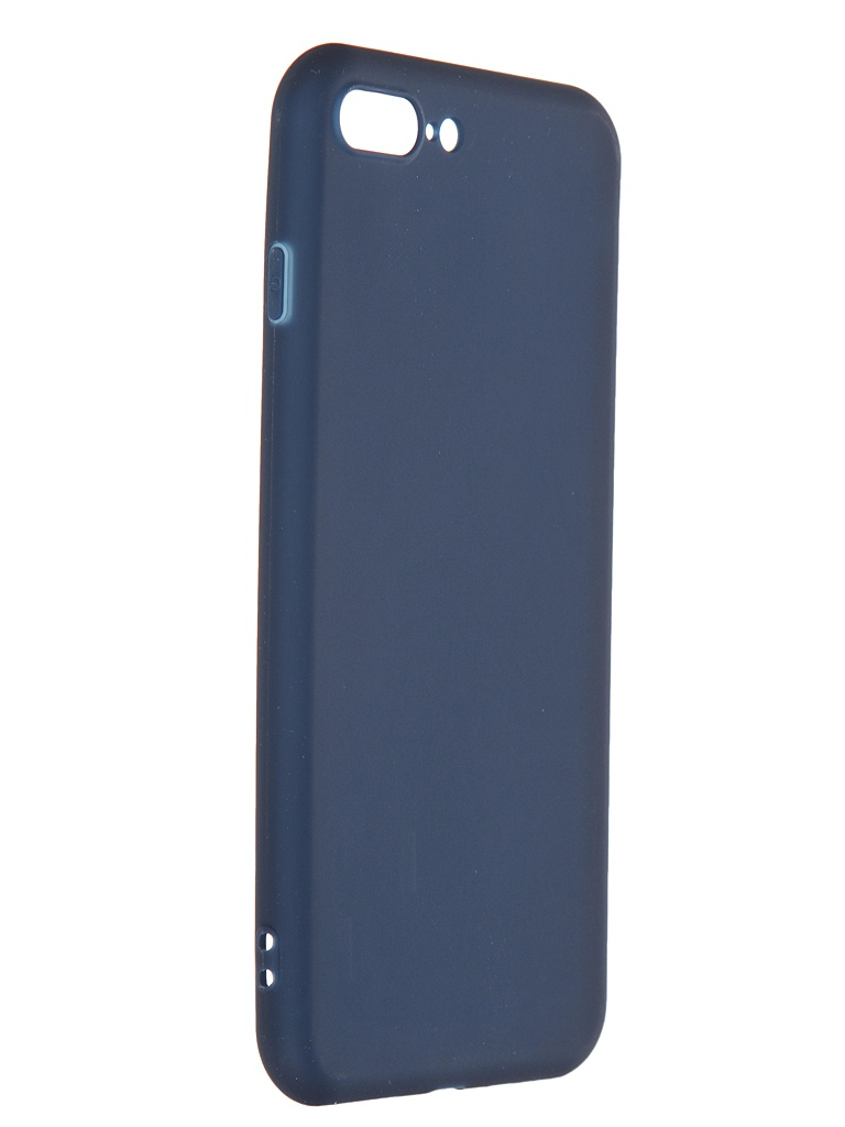 Чехол Pero для APPLE iPhone 7 Plus Soft Touch Blue PRSTC-I7PBL