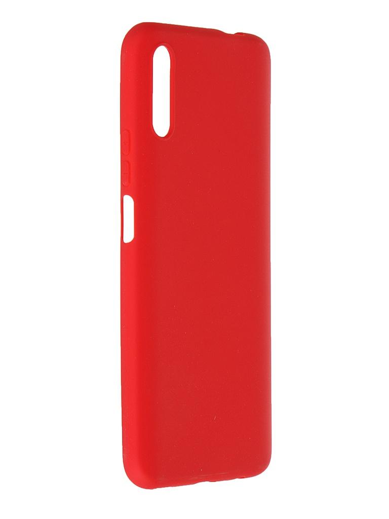 Чехол Pero для Honor 9X Soft Touch Red CC01-H9XR