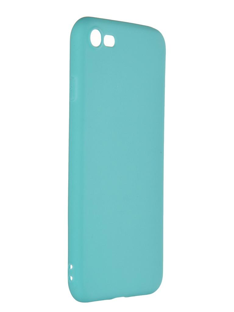 Чехол Pero для APPLE iPhone 7 Soft Touch Turquoise PRSTC-I7C