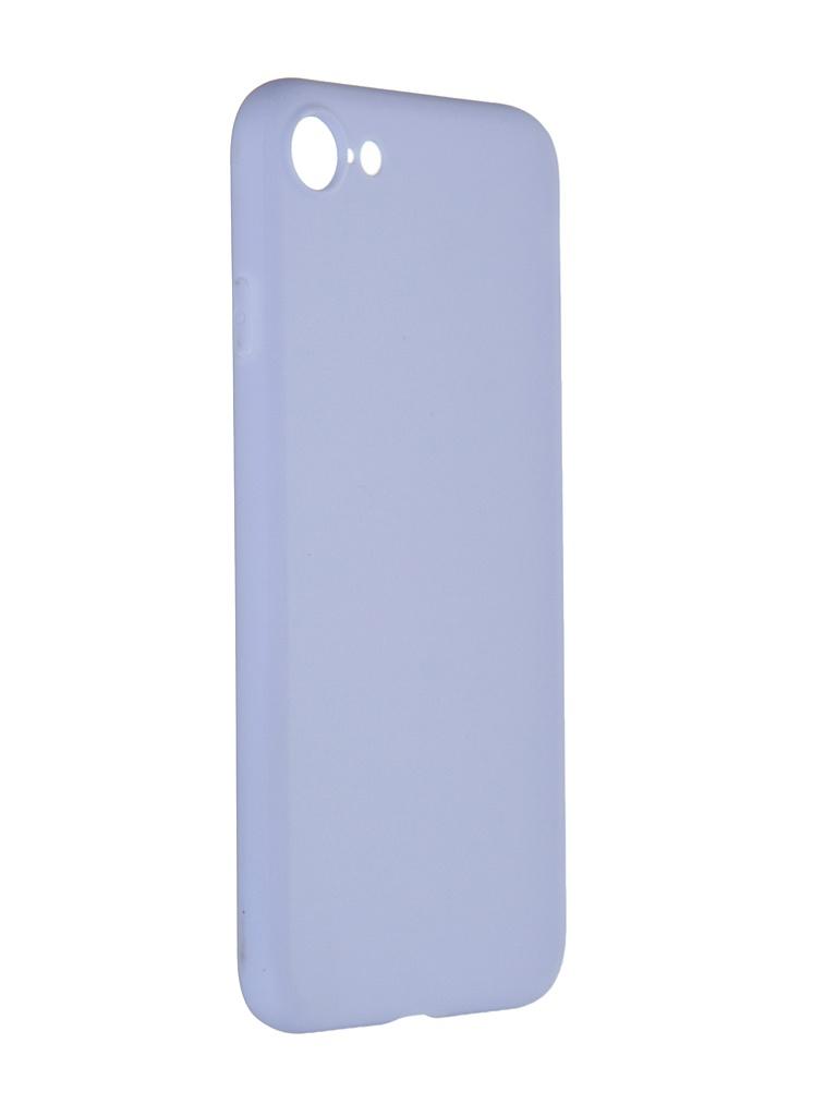 Чехол Pero для APPLE iPhone 7 Soft Touch Light Blue CC01-I7OB