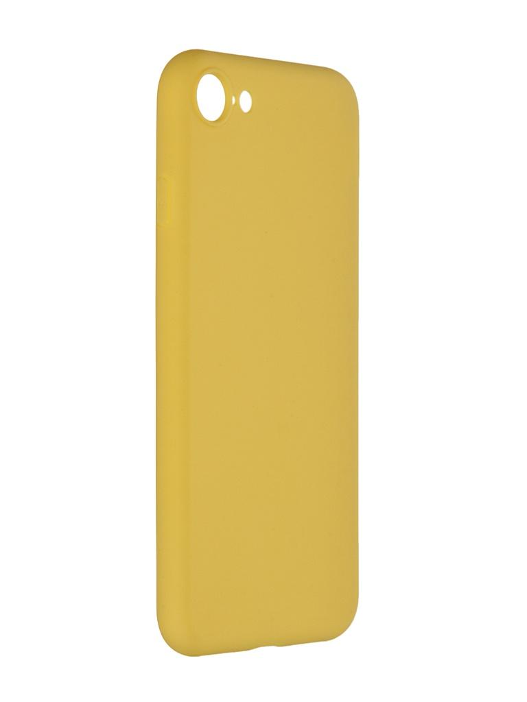 Чехол Pero для APPLE iPhone 7 Soft Touch Yellow CC01-I7Y