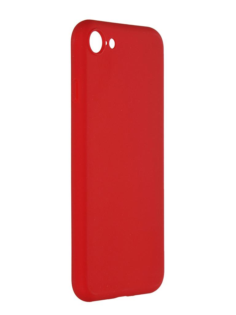 Чехол Pero для APPLE iPhone 7 Soft Touch Red PRSTC-I7R